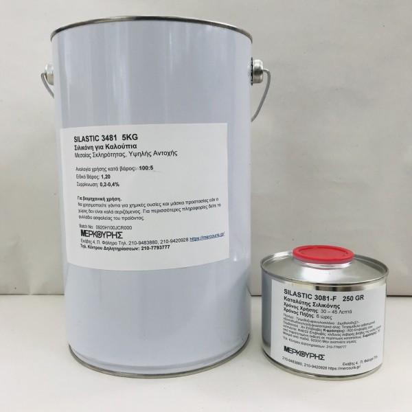 Σιλικόνη Silastic 3481 με 6ωρο Καταλύτη 3081-F Σετ 5,25kg ΥΛΙΚΑ ΓΙΑ ΚΑΛΟΥΠΙΑ Προϊόντα Υψηλής Τεχνολογίας - e-mercouris.gr